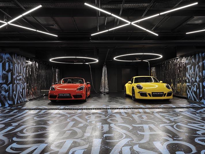 Autowaschhalle