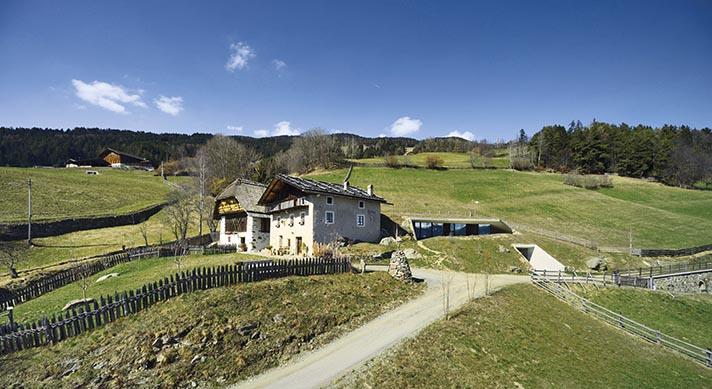 Wohnhauserweiterung in Südtirol