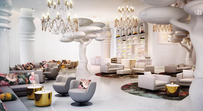 Marcel Wanders - Doha - Lobby Bar