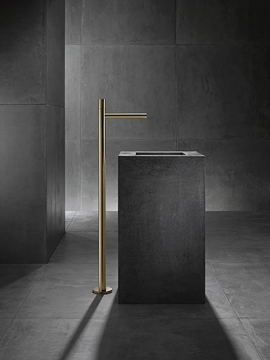 Uno Zero, PVD-Oberfläche Gold | Axor, www.hansgrohe.de