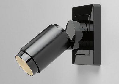 Plug & Light Strahler, Schwarz / Black , Seite links