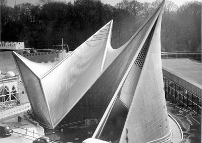PHILIPS PAVILLON BRUXELLES 1958